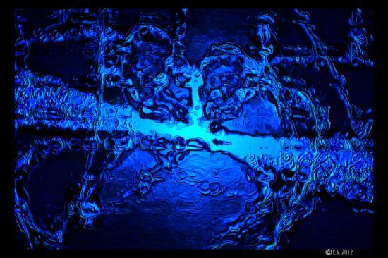 Blue aluminium Core